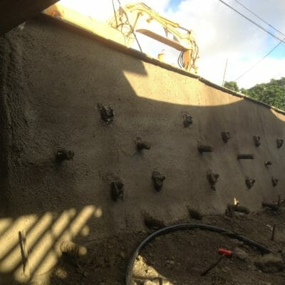 Retaining wall repairs in Hawaii