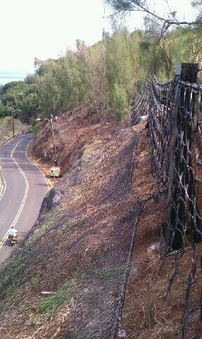 Pupukea Road Rockfall Mitigation – Phase 1