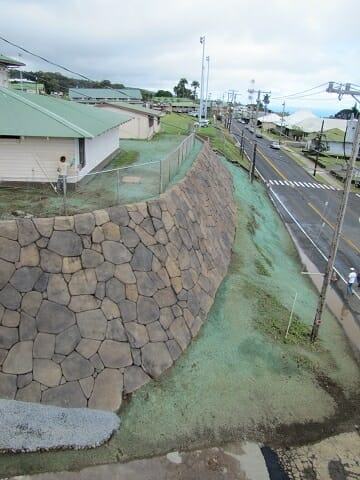 Honoka'a Rock Wall Repairs