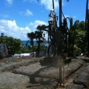 Foundation Drilling in Honolulu, Hawaii