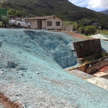 Kailua Corp Yard Erosion Area Improvements
