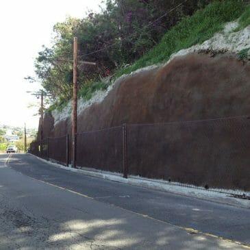 Sierra Drive Rockslide Mitigation