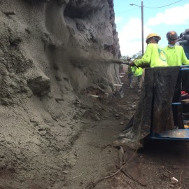 Pupukea Road Rockfall Mitigation