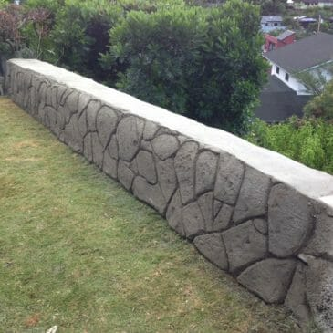 Kaneohe Bay – Reinforce Rock Retaining Wall