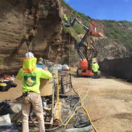 Hanauma Bay Nature Preserve Rockfall Mitigative Measures, Phase 2