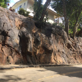 Rock Slide Mitigative Improvements along Nuuanu Pali Drive