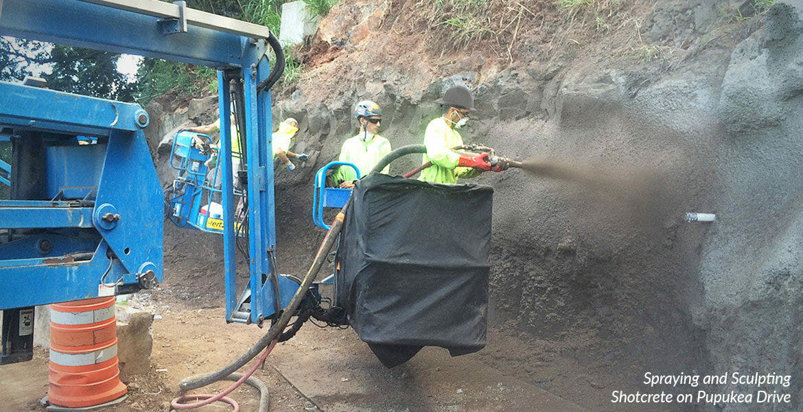 Expert Shotcrete Spray Services Available in Hawaii