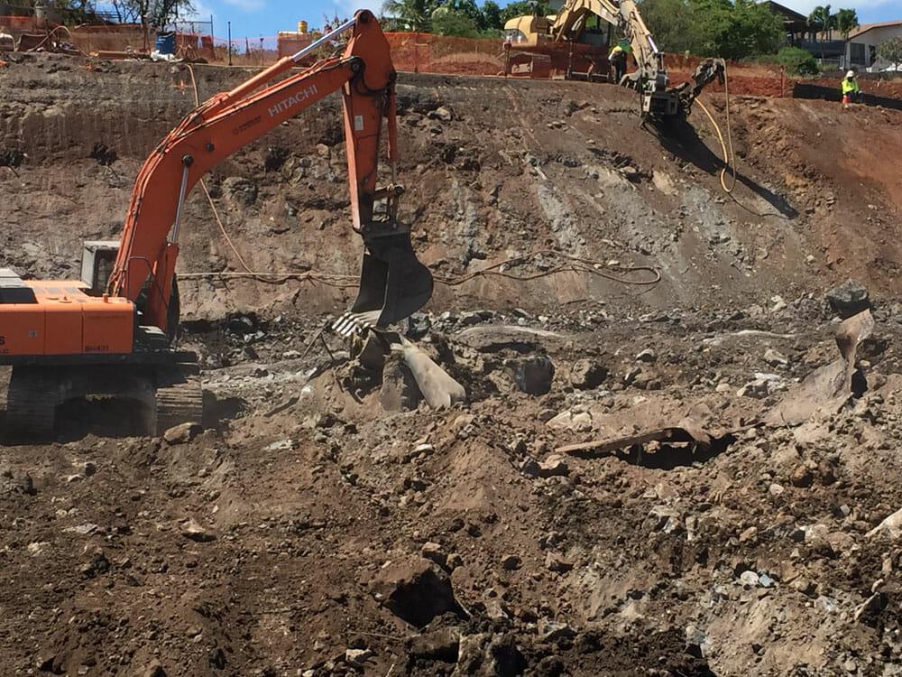 Soil Nail Installation : Kapolei interchange soil nail wall hawaii rockfall