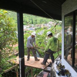 Foundation Stabilization in Hawaii Kai