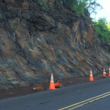 Rockslide Mitigative Improvements along Moanalua Loop