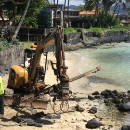 Seawall Stabilization in Honolulu, Hawaii